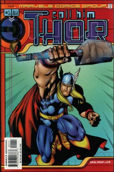 Marvels Comics: Thor 1-A by Marvel