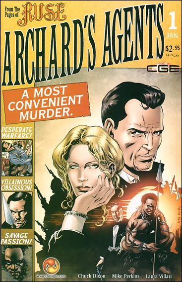 Archard's Agents: A Most Convenient Murder 1-A by CrossGen