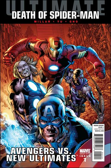 Ultimate Avengers vs New Ultimates 1-C by Marvel