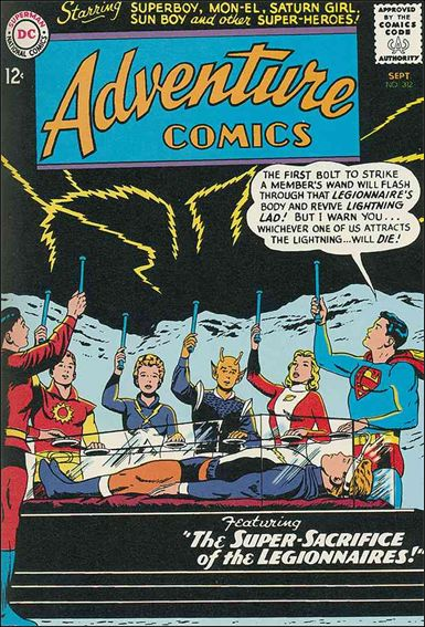 Adventure Comics (1938) 312-A by DC