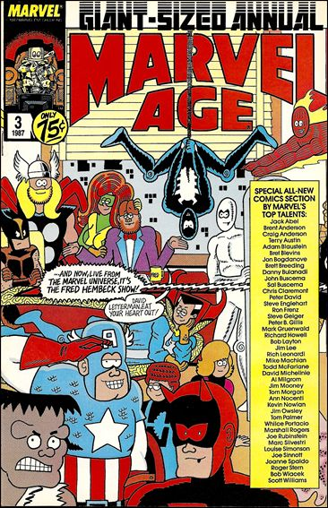 Marvel Age Annual 3-A by Marvel