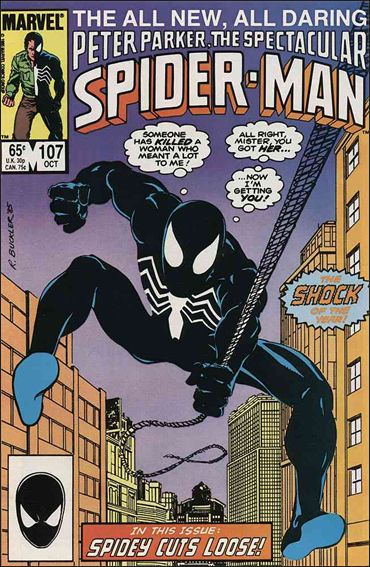 Spectacular Spider-Man (1976) 107-A by Marvel