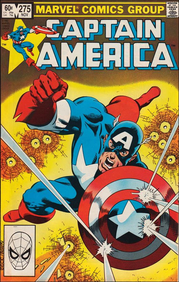 Captain America (1968) 275-A by Marvel