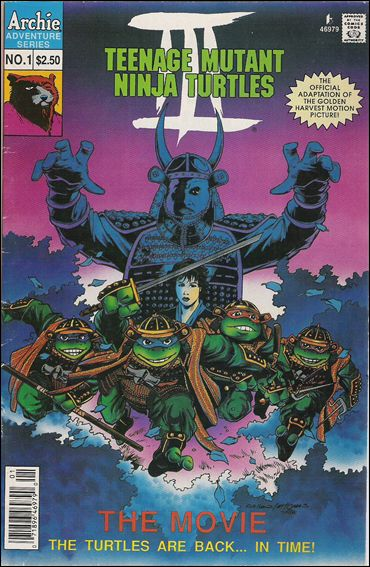 Teenage Mutant Ninja Turtles III: The Movie 1-A by Archie