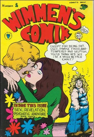 Wimmen's Comix 1-A by Last Gasp