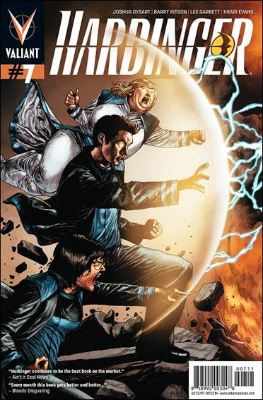 Harbinger (2012) 7-A by Valiant Entertainment
