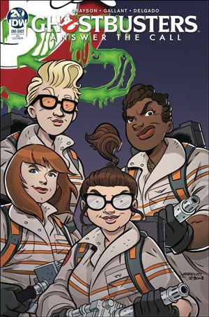 Answer the Call Ghostbusters 35th Anniversary: One-Shot One-Shot-B