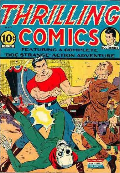 Thrilling Comics (1940) 35-A by Standard