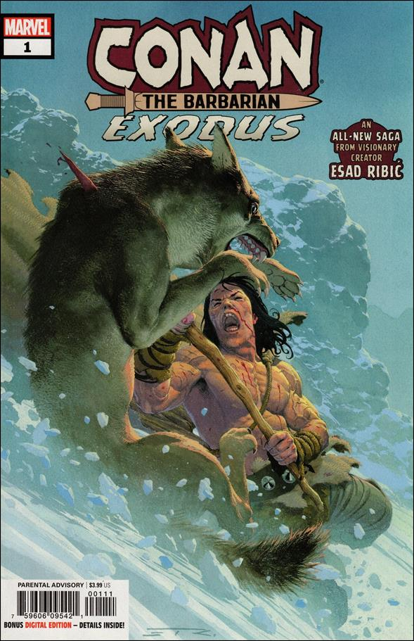 Conan the Barbarian: Exodus 1-A by Marvel