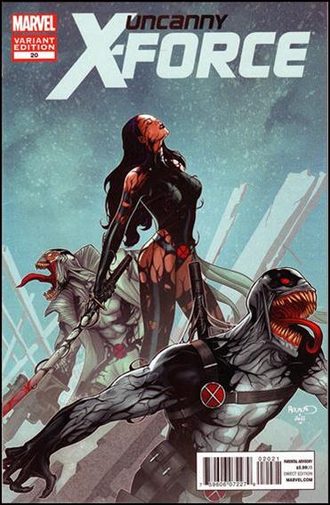 Uncanny X-Force (2010) 20-B by Marvel