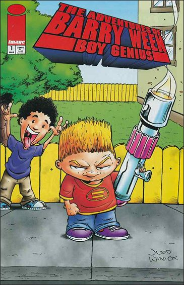 Adventures of Barry Ween, Boy Genius 1-A by Image