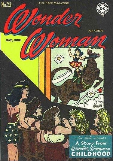 Wonder Woman (1942) 23-A by DC