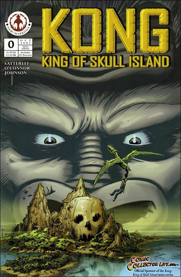 Kong: King of Skull Island 0-A by Markosia