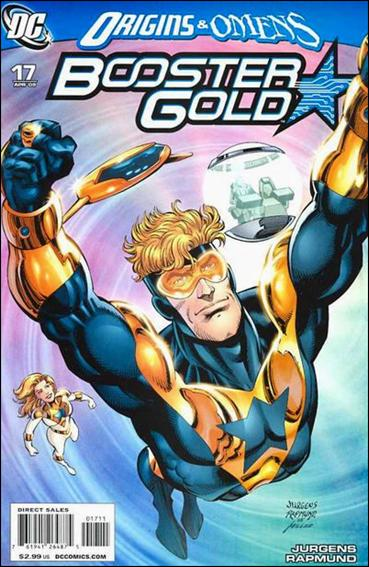 Booster Gold (2007) 17-A by DC