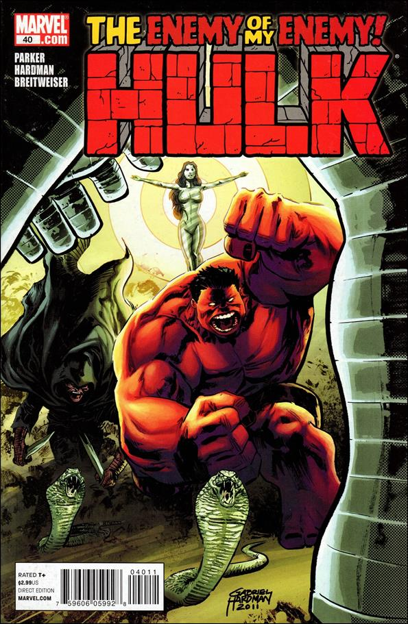 Hulk (2008)  40-A by Marvel