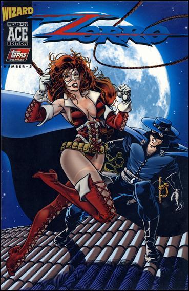 Zorro (1993) 3-B by Topps