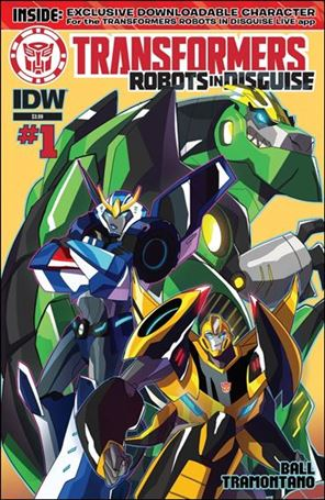 Transformers: Robots in Disguise (2015) 1-A