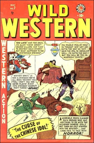Wild Western 7-A by Marvel