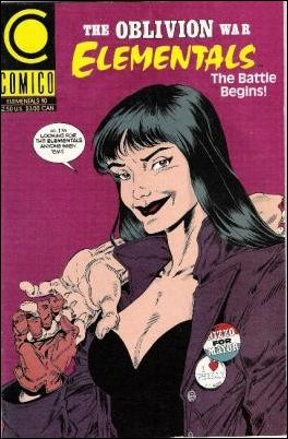 Elementals (1989) 10-A by Comico