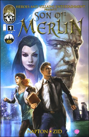 Son of Merlin 1-A by Top Cow