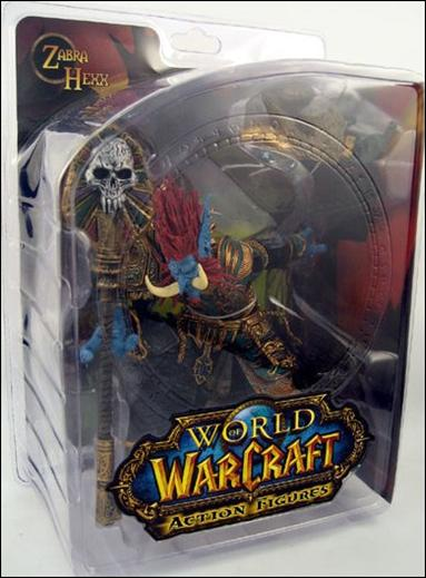 World of Warcraft (Series 2) Zabra Hexx (Troll Priest) by DC Direct