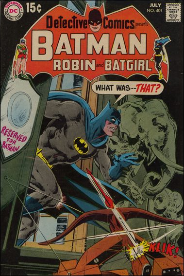 Detective Comics (1937) 401-A by DC