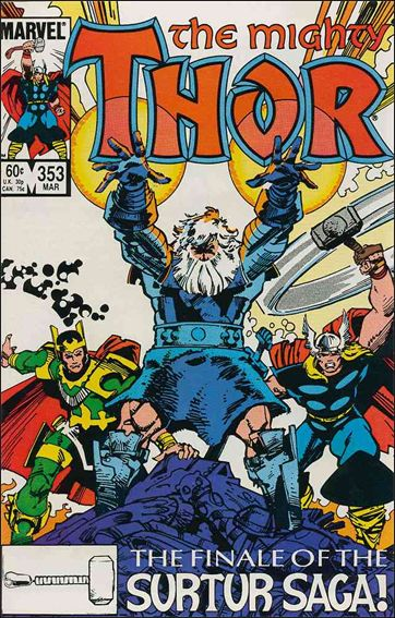 Thor (1966) 353-A by Marvel