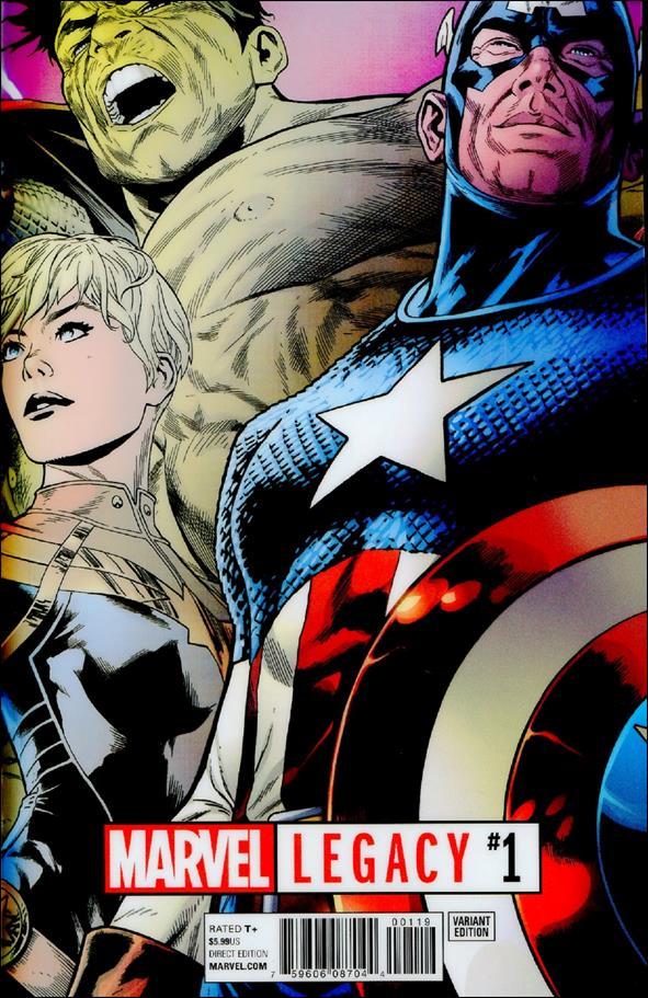 Marvel Legacy 1-B by Marvel