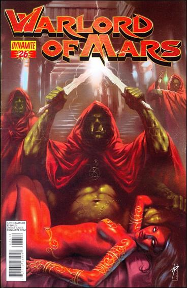 Warlord of Mars 26-B by Dynamite Entertainment