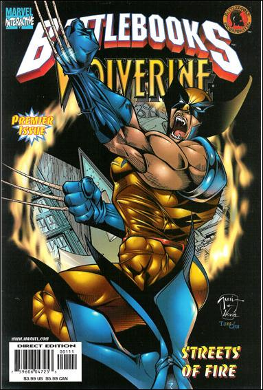 Wolverine Battlebook: Streets of Fire  1-A by Marvel