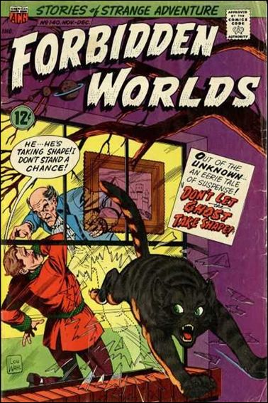 Forbidden Worlds (1951) 140-A by American Comics Group (ACG)