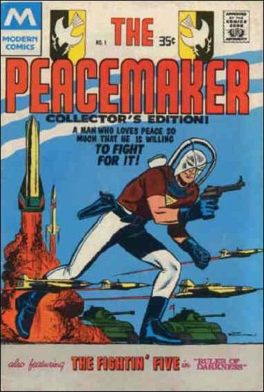 Peacemaker (1967) 1-B by Charlton
