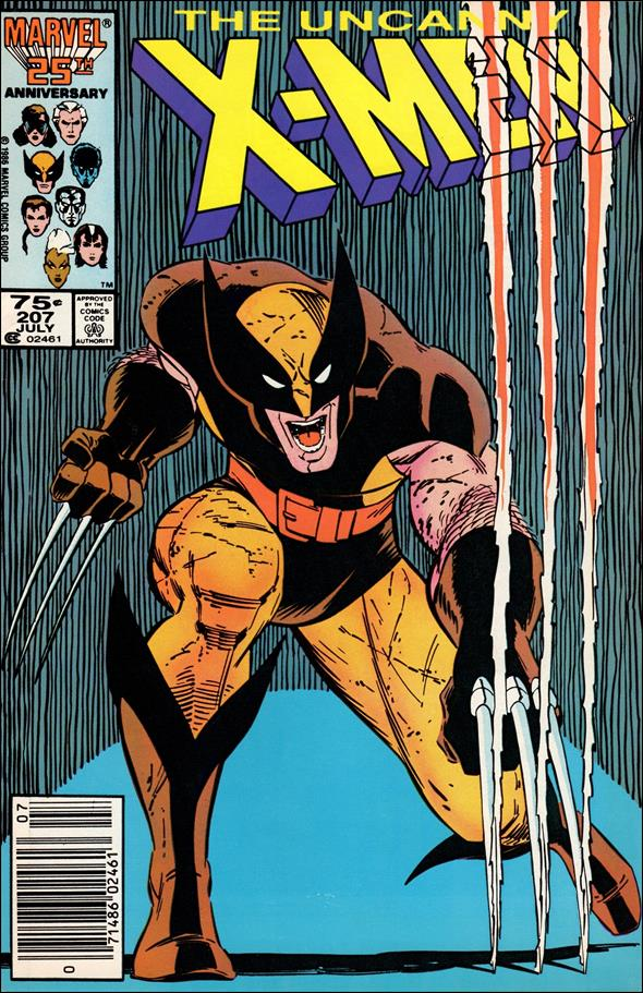Uncanny X-Men (1981) 207-A by Marvel