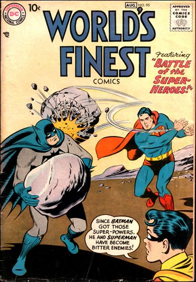 World's Finest Comics 95-A by DC