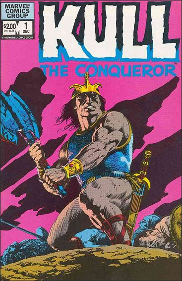 Kull the Conqueror (1982) 1-A by Marvel