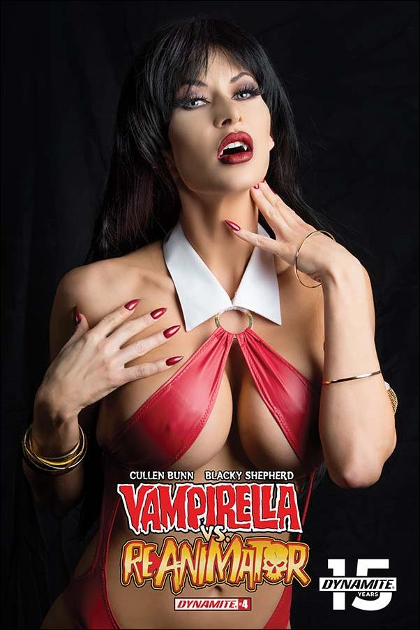 Vampirella vs Reanimator 4-D by Dynamite Entertainment