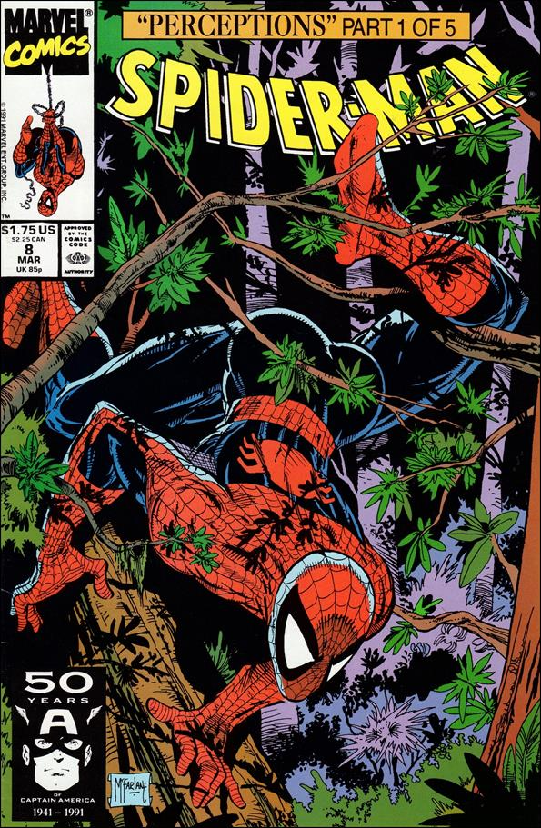 Spider-Man (1990) 8-A by Marvel