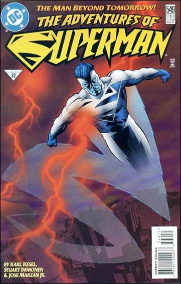 Adventures of Superman (1987) 549-A by DC