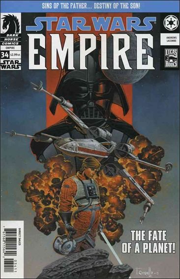 Star Wars: Empire 34-A by Dark Horse
