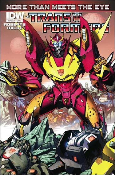 Transformers: More Than Meets the Eye (2012) 2-A by IDW