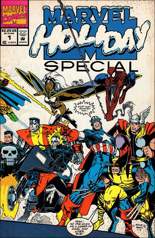 Marvel Holiday Special 1-A by Marvel
