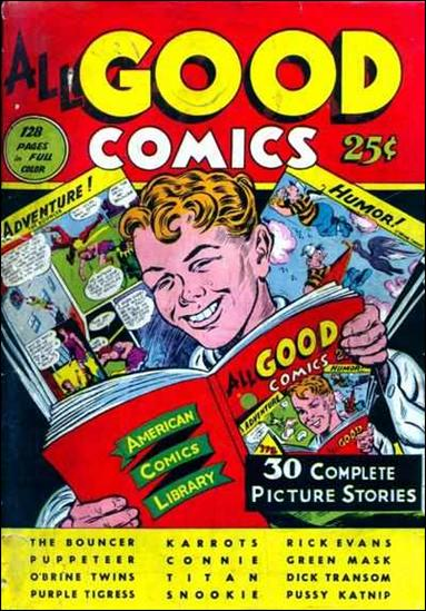 All Good Comics (1944) 1-A by R. W. Voight
