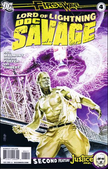 Doc Savage (2010) 4-A by DC