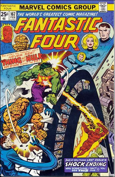 Fantastic Four (1961) 167-A by Marvel