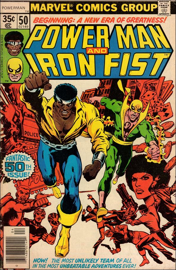 Power Man and Iron Fist (1978) 50-A by Marvel