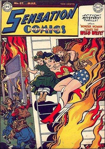 Sensation Comics (1942) 87-A by DC