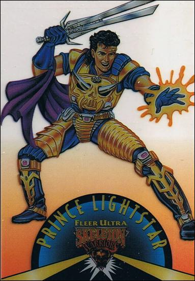 Fleer Ultra Skeleton Warriors (Suspended Animation Subset) 3-A by Fleer