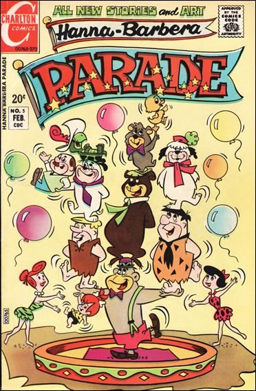 Hanna-Barbera: Parade 5-A by Charlton