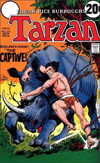 Tarzan (1972) 212-A by DC
