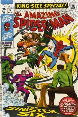 Amazing Spider-Man Annual (1964) 6-A